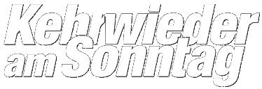 Kehrwieder am Sonntag - Logo