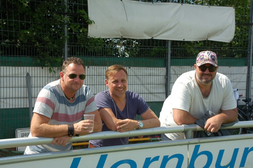 Olaf Becker, Michael Walter und Alex Aue